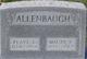 Maude V Allenbaugh