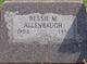 Bessie M Allenbaugh