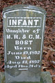 Infant Daughter Bost