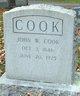 Profile photo:  John William Cook, Sr