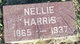 Nellie <I>Rutherford</I> Harris