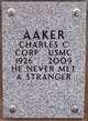 Corp Charles Chapman Aaker