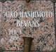 Profile photo:  Aiko <I>Hashimoto</I> Bevans