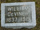 Profile photo:  William DeViney