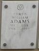 Profile photo:  Curtis William Adams