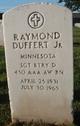 Sgt Raymond Duffert, Jr