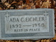 Profile photo:  Ada C <I>Radimaker</I> Eichler