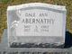 Dale Ann Abernathy