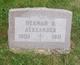 Herman B Alexander