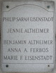 Jennie <I>Eisenstadt</I> Altheimer