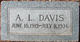 Profile photo:  A. L. Davis