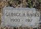 George A. Banks