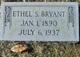 Ethel <I>Stackhouse</I> Bryant