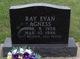 Profile photo:  Ray Evan Agness