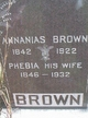 Annanias Brown