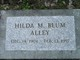 Profile photo:  Hilda Myrtle <I>Blum</I> Alley