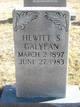 Profile photo:  Hewitt S Galyean