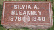 Sylvia Azalia <I>Ellis</I> Bleakney