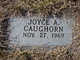 Profile photo:  Joyce A Caughorn