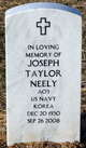 Joseph Taylor Neely
