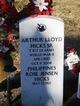 Profile photo:  Arthur Lloyd Hicks, Sr