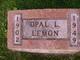 Opal L Lemon