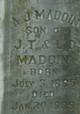 Profile photo:  A J Maddin