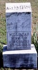 "Profile photo:  Willimiah ""Willie"" M. <I>Thomas</I> Combs"