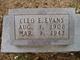 Cleo Evelyn <I>Hale</I> Evans