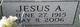Profile photo:  Jesus A Acevedo