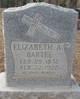 Elizabeth Ann <I>Haddox</I> Bartee