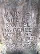 Mary Elenor <I>Wise</I> Megehee