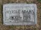 Myrtle Adams