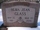 Alma Jean <I>Hicks</I> Glass