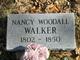 Nancy <I>Woodall</I> Walker