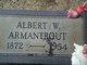 Profile photo:  Albert W Armantrout