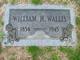 William H Wallis