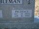 Prudence <I>Swain</I> Gobleman