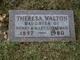 Theresa A <I>Gobleman</I> Walton