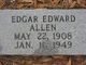Profile photo:  Edgar Edward Allen
