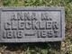 Anna Maria <I>Auer</I> Gleckler