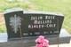 Julia Rose <I>Mullins</I> Ashley-Cole