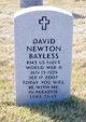 Profile photo:  David Newton Bayless