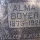 Alma Sophia <I>Taylor</I> Boyer