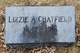 "Profile photo:  Elizabeth A ""Lizzie"" <I>Mead</I> Chatfield"