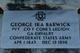George Ira Barwick
