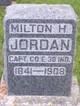Capt Milton Harvey Jordan