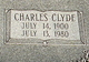 Profile photo:  Charles Clyde Jeffords