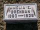 "Profile photo:  Amelia ""Emily"" <I>Frederick</I> Brennan"