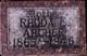 Profile photo:  Rhoda E. <I>Richardson</I> Archer